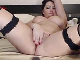 Milf Masturbation vor Webcam