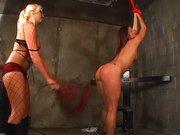 Die gefesselte Fetisch Sklavin